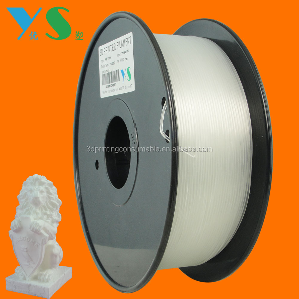 Yousu Wholesale plastic roll 3d printing 3d pen tiko printer filament pla <strong>abs</strong> 1.75mm