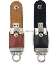 Best promotional gift Leather USB 2.0 MicroDrive 1GB 2GB 8GB