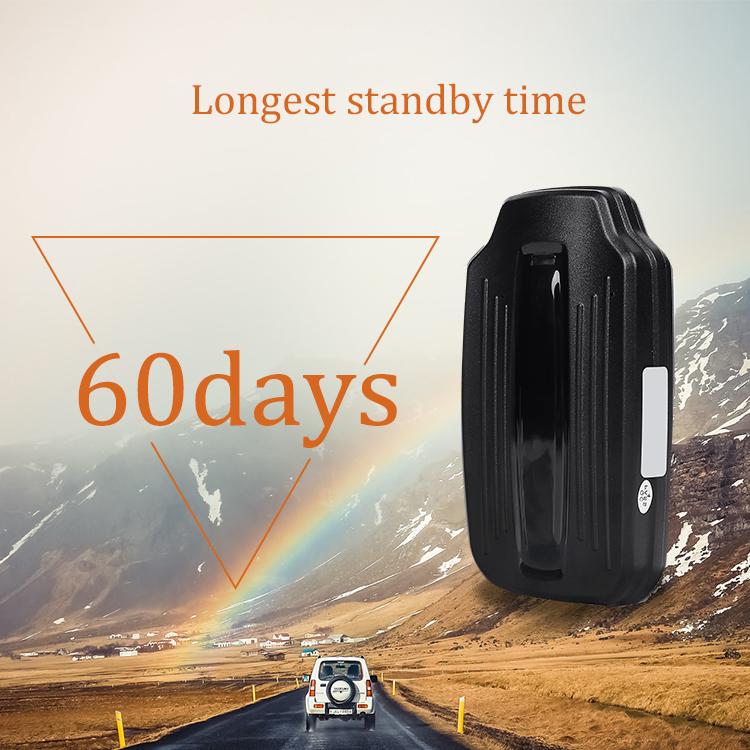 Ningmore bateria de longa duração Gps Tracker com ímã e à prova d' água para o carro veículo com 5000mAh da bateria