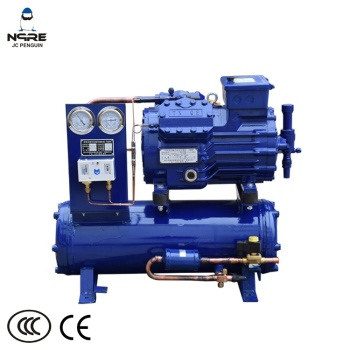 5HP Long life cooled refrigeration units for chiller equipment