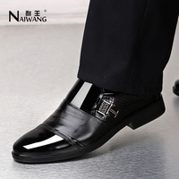 customize best quality stylish fashion dress leather shoes for men