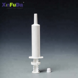 wholesale cheap price oral paste syringe for equine 30ml 60ml