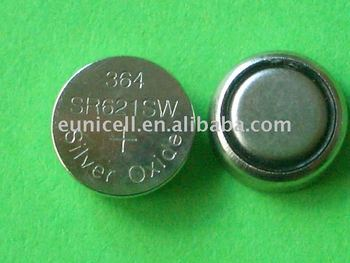 Sr521 379 Silver Oxide Button Cell 1.55v Watch Battery