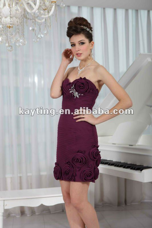 New Arrival Cocktail Party Dresses Short Formal Dresses Pleated