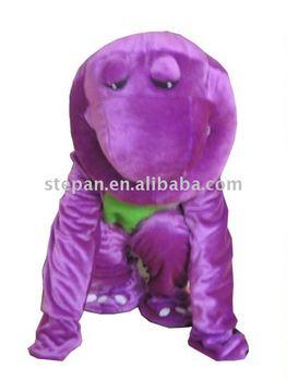 dinosaur Adult barney costume