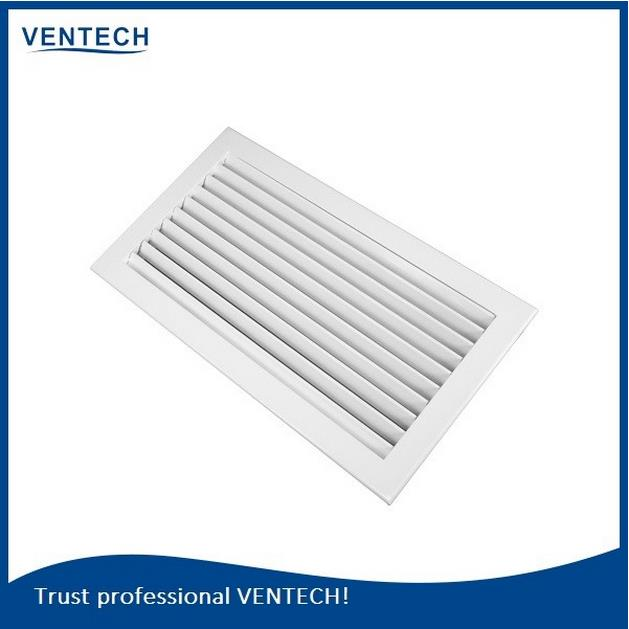 Ventech High Quality Aluminum Ventilation Wall Return Grille Fliter Louvers
