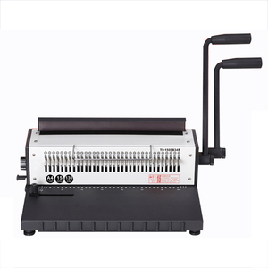 Trade Assurance Iron Ring Spiral Manual Paper Binding Machine