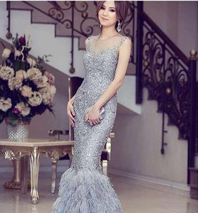 641d64fe145 Feather Evening Dress Wholesale