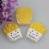 Kawaii Flatback DIY Resin French Fries Food Cabochon Scrapbooking Embellishment Decorations Crafts DIY Making