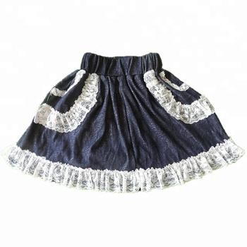 3feebe4bb0e7 Wholesale Girls Denim Skirt Toddler Baby Boutique Tutu Skirt Kids ...