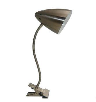 Adjustable Gooseneck Arm Clip Lamp E27 Chrom Finish Buy