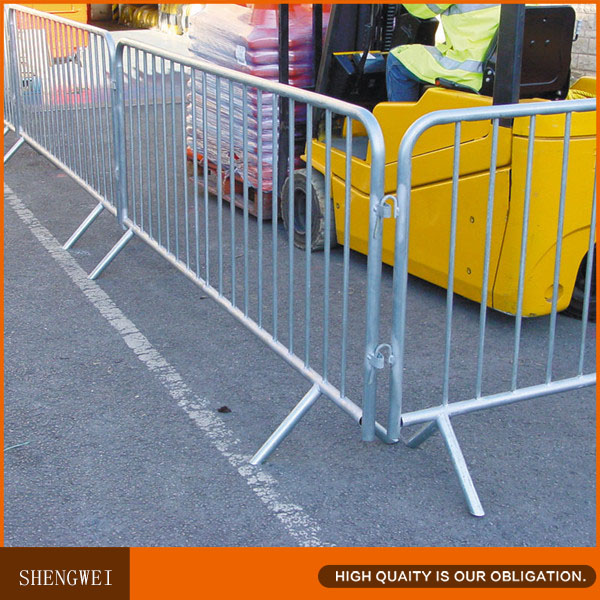 Crowd Control Barriers, Temporary Pedestrian Barricades