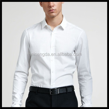 alibaba site new product ideas made in china cotton embroidered mens shirt  long sleeve white