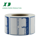 name tape packaging label private label sticker