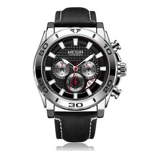 Relojes 2019 MEGIR 2094 Watch Men Fashion Sport Quartz Clock Mens Watches Top Brand Luxury Waterproof Watch Hour Relogio