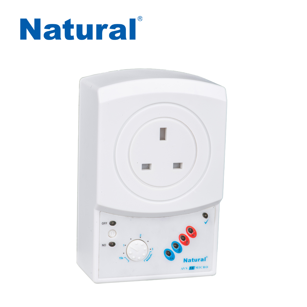 Using a multi-way socket appliances guard voltage stabilizer AVS 13A