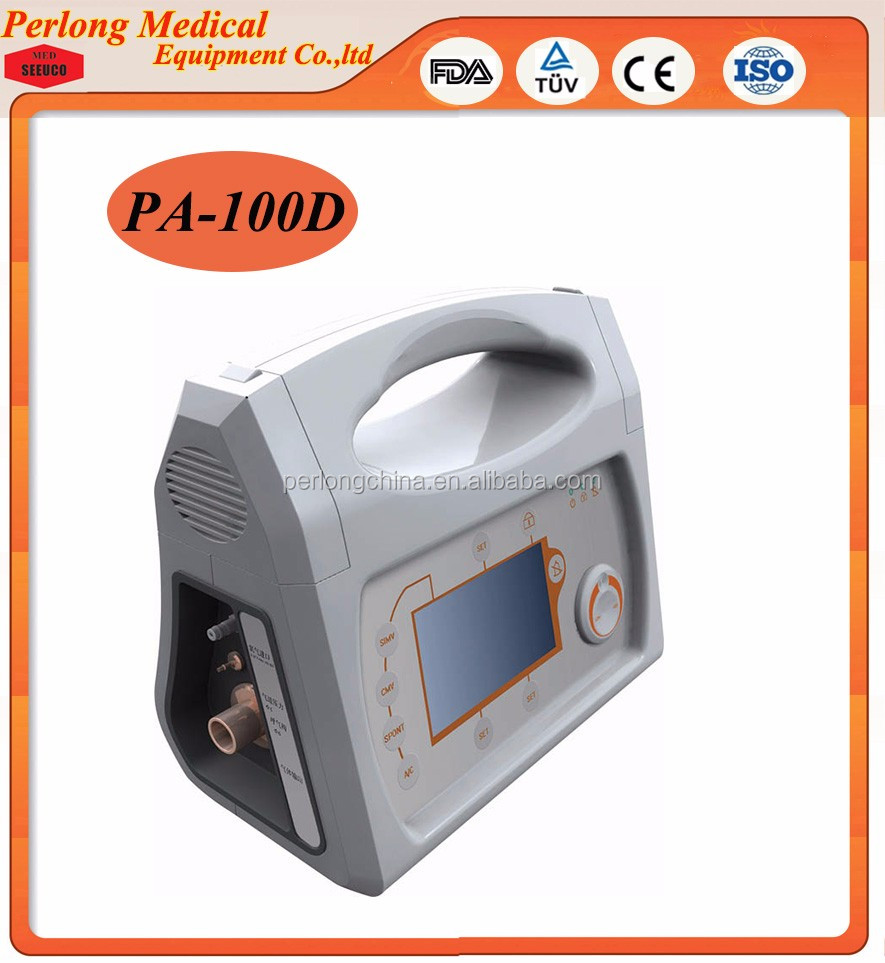 Medical Equipment Names Portable Mechanical Ventilator PA-100D