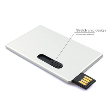 Chinese Novel Products Wholesale Ali Custom Logo Printing 2Gb Credit Card Usb Flash From Usb Flash Drives Manufacturer