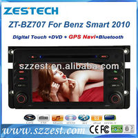 ZESTECH Car DVD GPS For Mercedes-Benz Smart Fortwo 2011-2013 Car DVD GPS with Navigation Radio