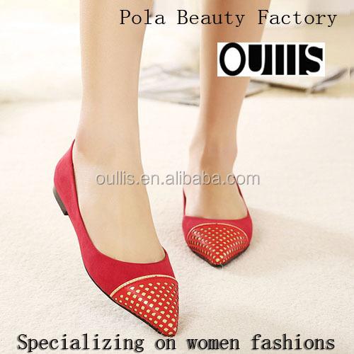 21abd2d73 السيدات أحدث تصميم 2016 pe3385 flat أحذية جميلة-أحذية عادية نسائية ...