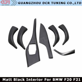 F20 F21 Matt Black Carbon Fiber Interior For Bmw 1 Series Carbon