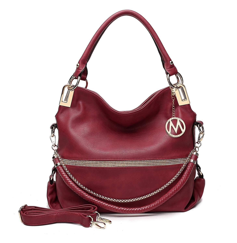 a04dd3de5c8 Get Quotations · MKF Collection Beautiful Woman Designer Handbag, Hobo Bag,  Glam-Gal fashion Designer Purse