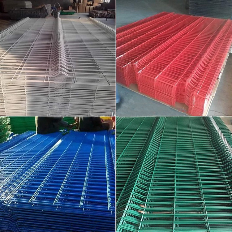 High Quality Outdoor PVC Coated 3D Wire Mesh Fence/ Welded Garden Fence Panels Price Philippines