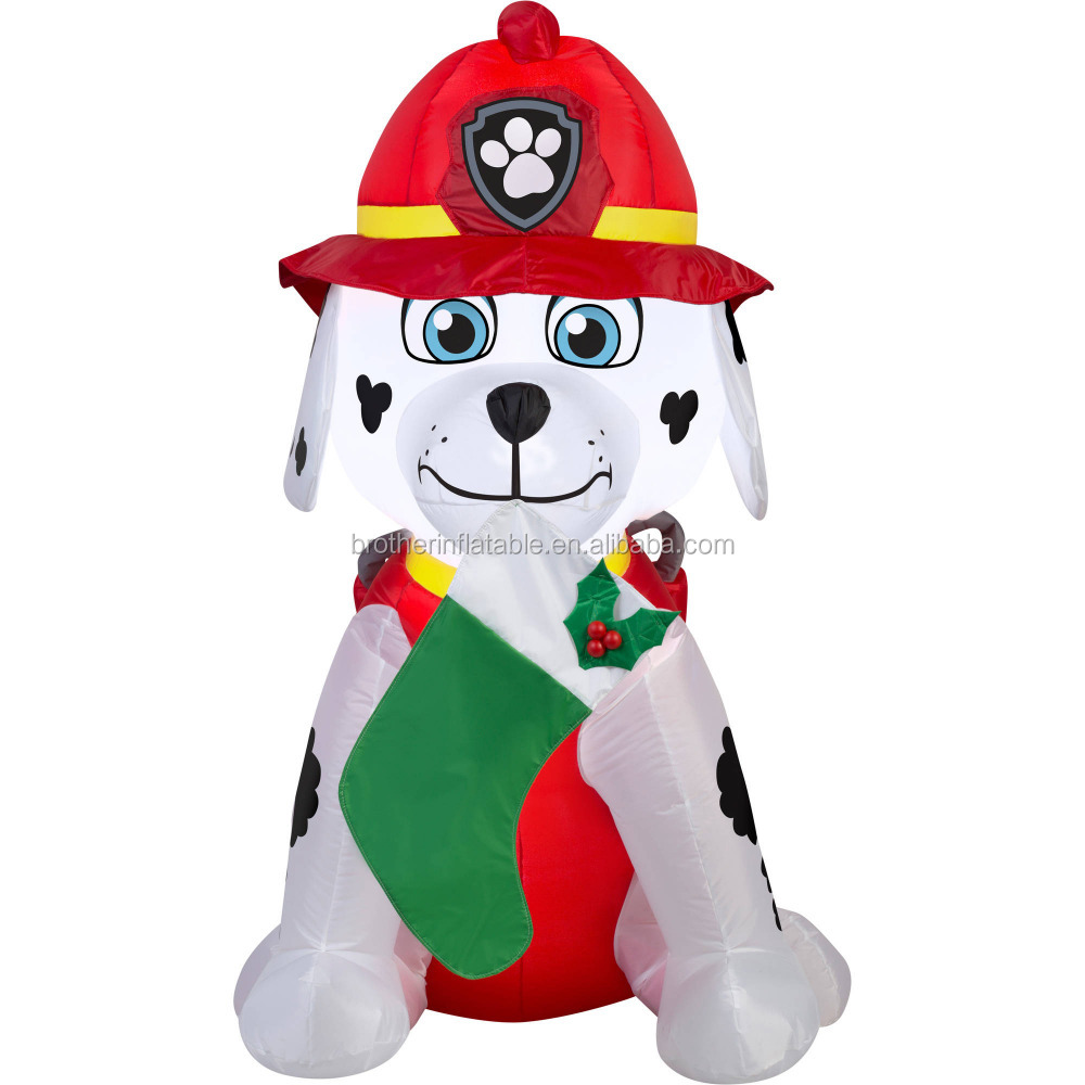 Inflatable Yard Dog Christmas Husky Dog For House Decorations - Buy ...