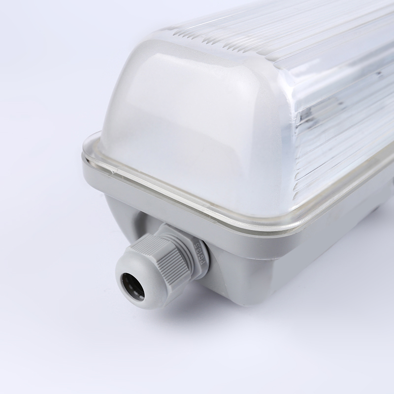 Ip65 Led Tube Fixture/t8 tri proof light/IP65 sample price quotation of led tri-proof light shell