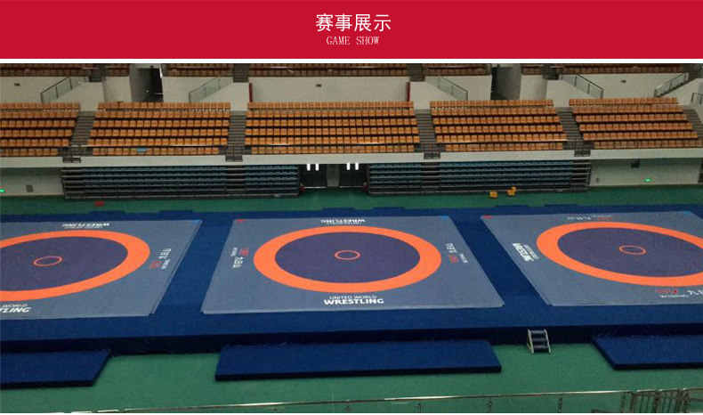 UWW approved competition or training PVC material used wrestling mats for sale 1912A1/A2