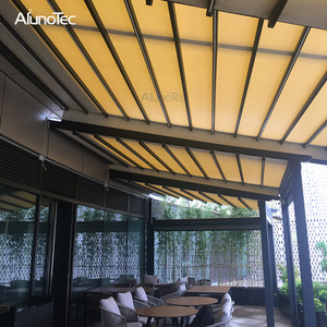 New Design Canvas Awning Hotel Retractable Patio Awning For Car Shading