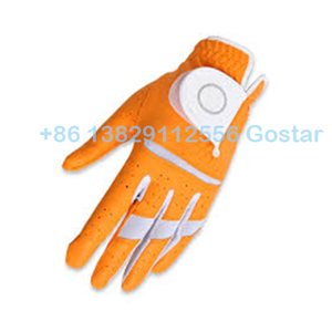 yellow kid golf glove