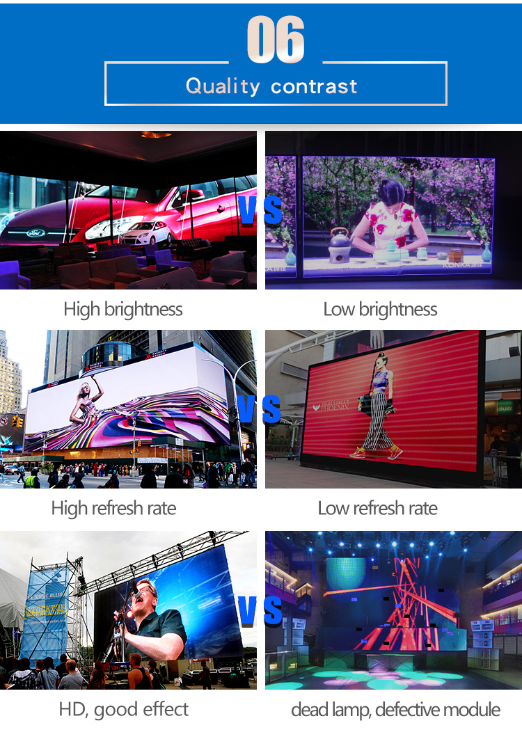 P8 SMD outdoor full color advertising led display /Chinese xxx Videos HD Full Color LED Display