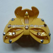 hair claw clip rhinestone jeweled plastic hair claw