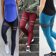 ZH0851F Hot Sale Bodycon Stretchy Pants Leggings Skinny Trousers Women Yoga Pants