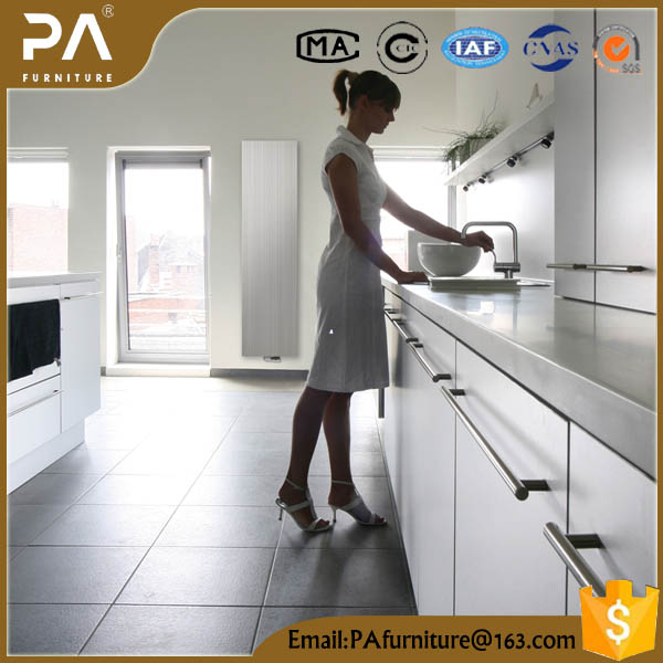 affordable modern flat panel kitchen cabinets with precut granite countertops