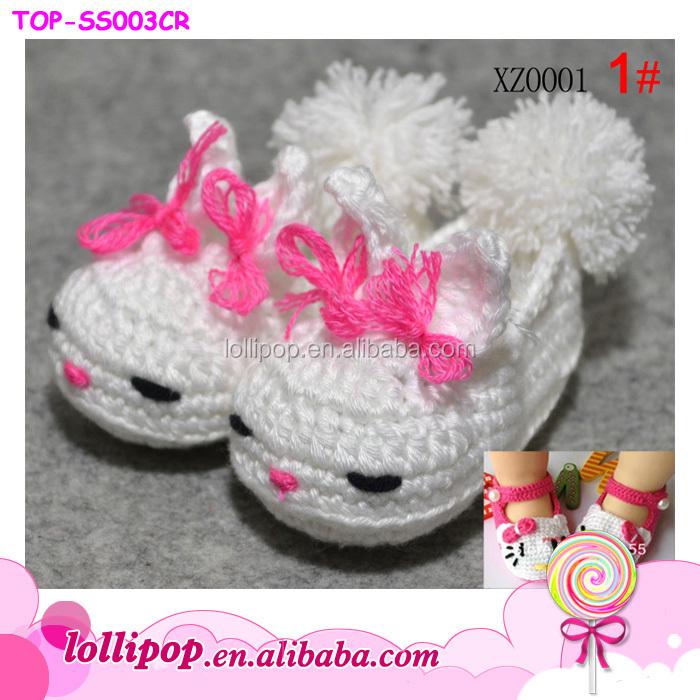 2015 Mode Heißer Verkauf Handgefertigten Schöne Hallo Kitty Häkeln Babyschuhe Buy Häkeln Babyschuheschöne Hallo Kitty Häkeln