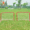red rebound portable mini foldable soccer goal net