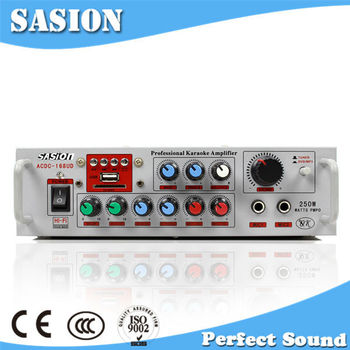 China Supplier Sasion Db Audio Amplifier 12v Dc