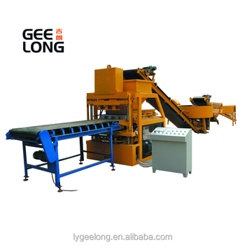 GLF4-10 interlocking bricks kenya soil interlocking brick machine