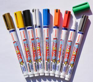 Kaicong paint marker pigment marker opaque and waterproof paint marker