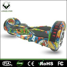 China factory 8 inch two wheel 500W motor hoverboard with handle bar