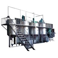 Refined Plant Cooking Oil/Food Grade Soyabean Oil Refining Machine/3Tpd Sunflower Oil Refining Line