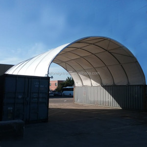W18xL12xH3.6m dome container shelter