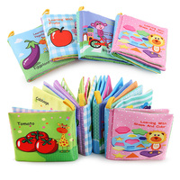 Cheap wholesale fabric cloth books baby cloth book