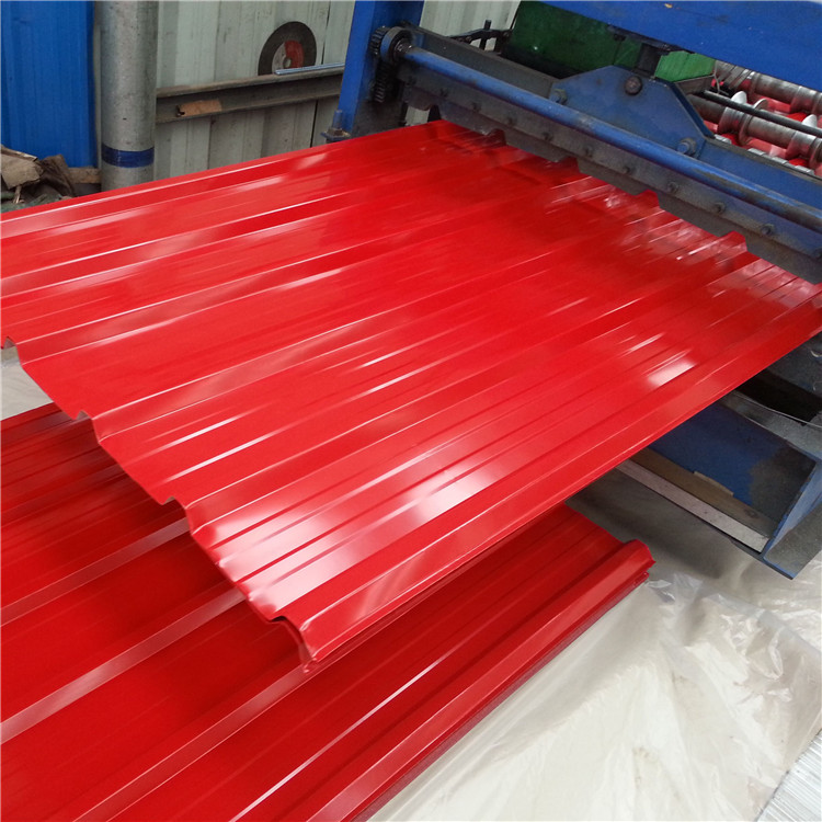 Available building materials Galvanized Iron Sheet for Roofing Sheet Weight