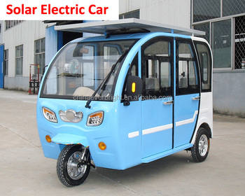 solar smart middle steering solar electric car for sale buy high quality solar electric car. Black Bedroom Furniture Sets. Home Design Ideas