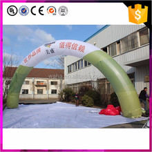 Factory price green inflatable arch for wedding