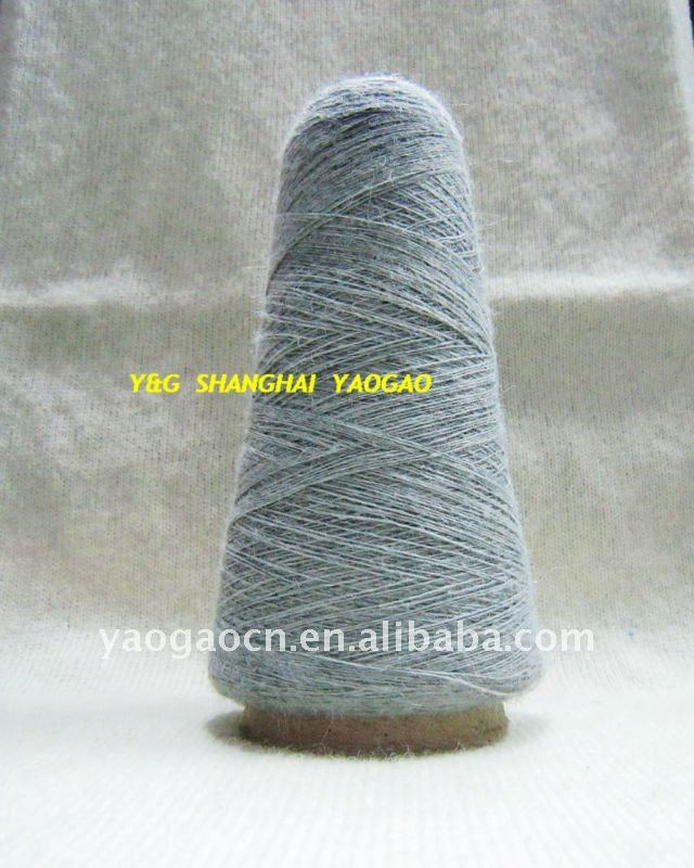 recycle/regenerated wool blended yarn