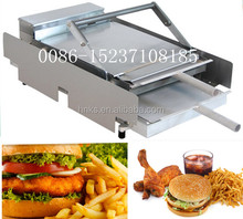 Hot sell hamburger roaster machine bread baking machine